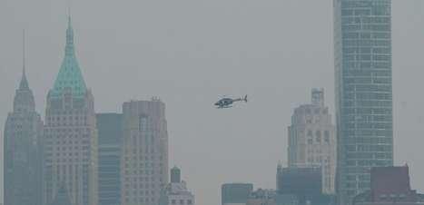 Alerta de contaminação em Nova York por fumaça de incêndios no Oeste
