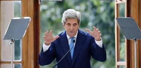 Enviado especial dos EUA para o clima pede cooperação à China