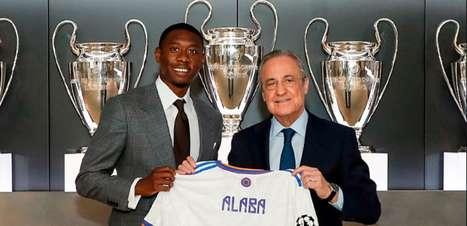 Alaba é apresentado no Real Madrid e herda camisa de Sergio Ramos