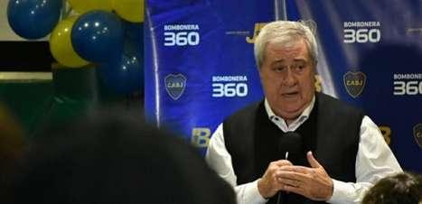 Presidente do Boca acusa o Galo de causar a confusão e chama o VAR de 'malicioso e mal intencionado'