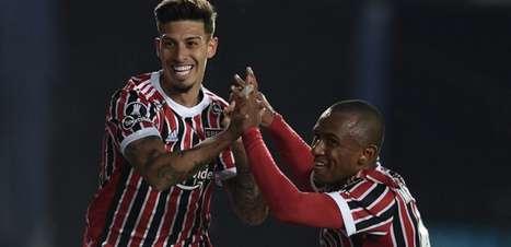 São Paulo bate o Racing e espera o Palmeiras na Libertadores