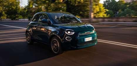 Fiat 500 elétrico será lançado no Brasil no dia 3 de agosto