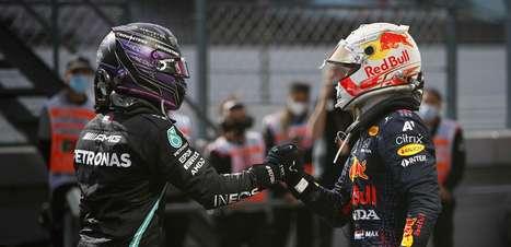 Hamilton x Verstappen: a disputa no espelho da Fórmula 1