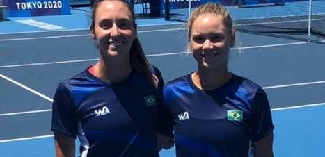 Luisa Stefani animada com estreia na Olimpíada e dupla mista com Melo