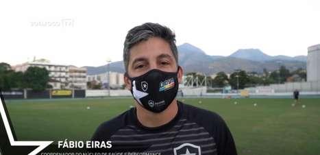 Botafogo apresenta Fábio Eiras como o novo Coordenador do Núcleo de Saúde e Performance do clube