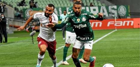 Palmeiras supera o Fluminense e amplia vantagem