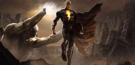 The Rock explica diferença entre os poderes de Adão Negro e Superman