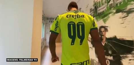 PALMEIRAS: Borja volta ao clube e é bem recebido por seus companheiros