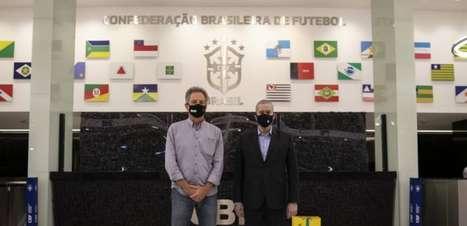 Cautelosos, Landim e presidente da FPF avisam que só serão interventores da CBF com 'respaldo'