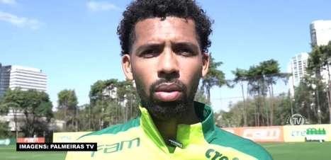 """PALMEIRAS: Matheus Fernandes se diz abaixo do peso, comemora os 3 quilos conquistados e promete: """"Vou comer bastante"""""""