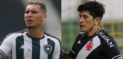 Garçom x matador: importantes, Navarro e Cano travam duelo à parte no Botafogo x Vasco
