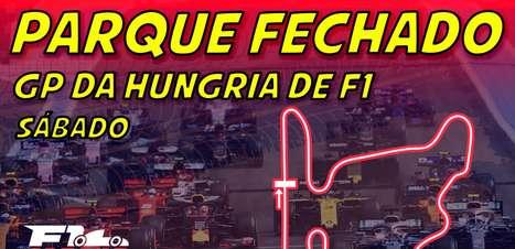 Ao vivo: Parque Fechado, o grid de largada da F1 para o GP da Hungria