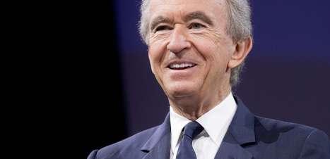 Arnault ultrapassa novamente Bezos e se torna a pessoa mais rica do mundo