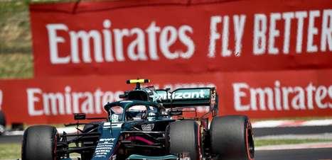 """Vettel admite decepção por 2° lugar, mas aplaude Ocon: """"Não cometeu um único erro"""""""