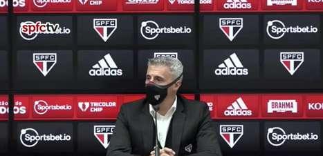 """SÃO PAULO: Crespo procura não pensar no confronto contra o Palmeiras pela Libertadores: """"Primeiro temos que pensar no Vasco pela Copa do Brasil"""""""
