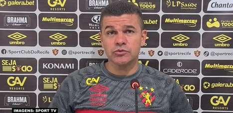 SPORT: Umberto Louzer comemora vitória sobre o Bahia e se diz contente com evolução da equipe no campeonato