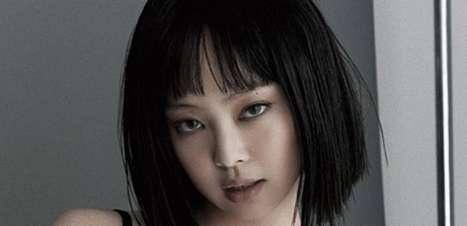 Jennie, do BLACKPINK, choca com visual sexy em novo ensaio