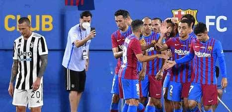 Após despedida de Messi, Barcelona vence a Juventus pelo Joan Gamper; veja outros amistosos do dia
