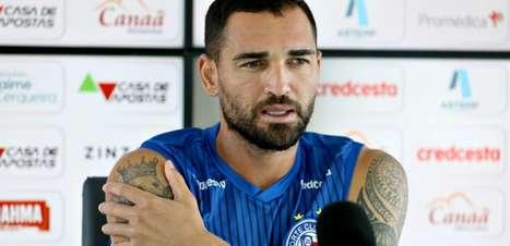 Gilberto atravessa jejum de gols pelo Bahia