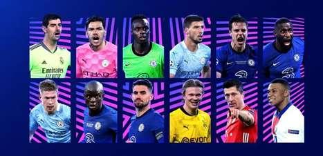 Uefa divulga finalistas dos prêmios individuais da Liga dos Campeões e da Liga Europa