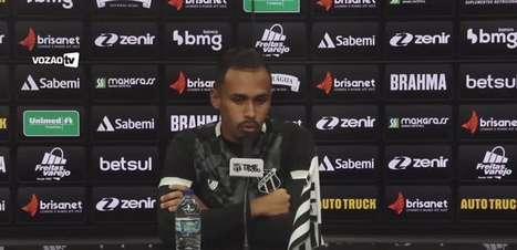 """CEARÁ: Lima pede 'marcação forte' em duelo contra o Flamengo: """"Temos que aproveitar a vantagem dentro do campo"""""""
