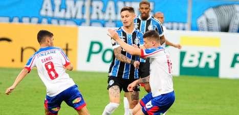 Grêmio x Bahia: prováveis times e onde assistir
