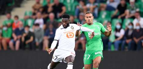 Lille empata com Saint-Étienne e segue sem vencer na Ligue 1