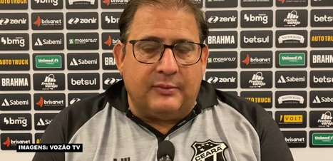 """CEARÁ: Guto Ferreira analisa atuação da equipe em empate com o Flamengo: """"Estivemos muito próximo da vitória"""""""