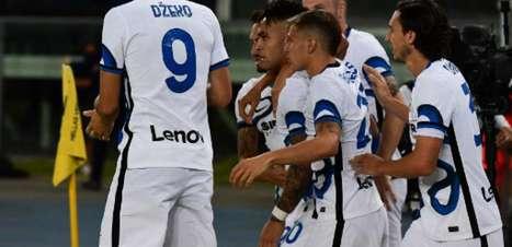 De virada, Inter de Milão vence o Hellas Verona no Italiano