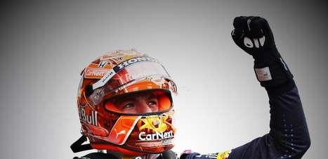 Verstappen, 50% das poles, está longe dos recordistas da F1