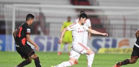 Em jogo truncado, Atlético-GO e Inter ficam no empate sem gols