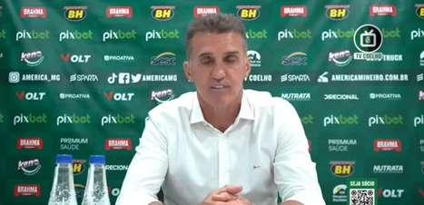 AMÉRICA-MG: Mancini exalta empenho dos jogadores e explica estratégia na vitória contra o Ceará