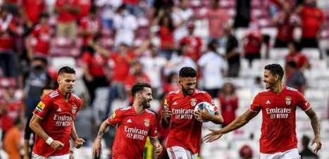 Benfica vira no final com Gilberto e vence o Tondela pelo Português