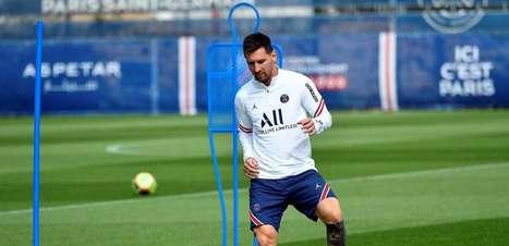 Messi é relacionado e fará estreia pelo PSG neste domingo