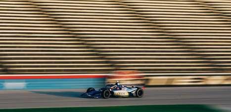 Jimmie Johnson realiza seu primeiro teste em pista oval na Indy