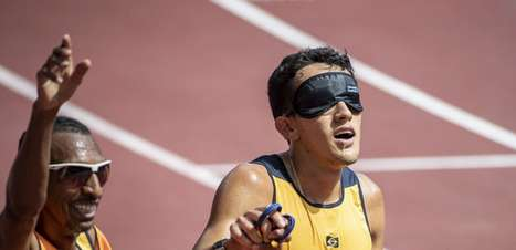 Yeltsin Jacques vence os 1.500m e conquista o centésimo ouro do Brasil na história das Paralimpíadas
