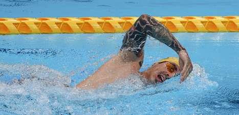 Talisson Glock conquista medalha de ouro nos 400m livre na natação nos Jogos Paralímpicos