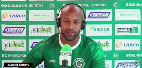 """GOIÁS: Fellipe Bastos prega respeito ao Cruzeiro antes de duelo: """"Não podemos cair na esparrela de que vamos atropelar"""""""