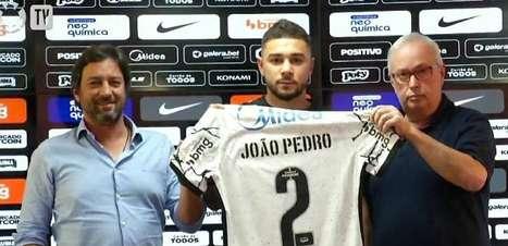 Ex-Palmeiras, João Pedro quer estrear logo pelo Corinthians