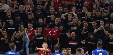 Fifa investigará racismo contra ingleses na Hungria