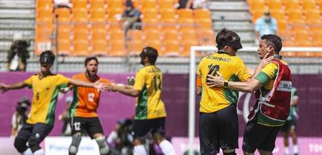 É penta! Brasil bate a Argentina na final e leva a medalha de ouro no futebol de cinco nas Paralimpíadas