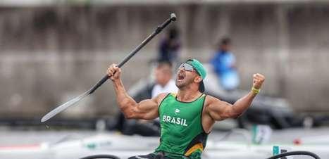 Paralimpíadas: Fernando Rufino é medalha de ouro e Giovane Vieira leva a prata na canoagem