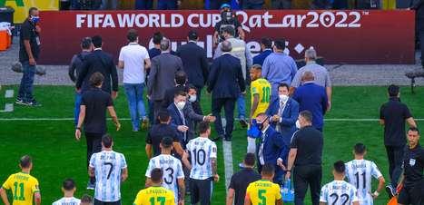 Anvisa intervém e jogo entre Brasil e Argentina é paralisado