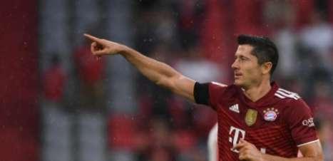 Lewandowski e Haaland brilham no começo da Bundesliga de 2021/22