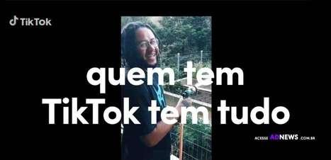 TikTok lança campanha #QuemTemTikTokTemTudo com Emicida