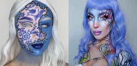 5 perfis de maquiagem artística para seguir e se inspirar!