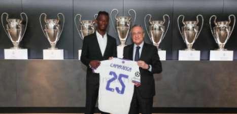[VÍDEO]: Camavinga é apresentado como novo reforço do Real Madrid