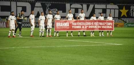 Santos e Bahia participam de ação para incentivar brasileiros a tomarem segunda dose de vacina