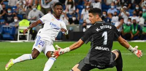 Imprensa espanhola exalta boa fase de Vini Jr no Real Madrid