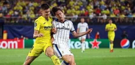 Villarreal e Atalanta empatam por 2 a 2 na Liga dos Campeões